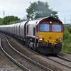 66221 1355/6H60 Humber-Drax passes Whitley Bridge Station.