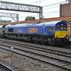 66750 0732 on a Liverpool-Ironbridge Biomass rake.