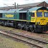 66594 1253/4E22 Felixstowe-Leeds passes Doncaster.