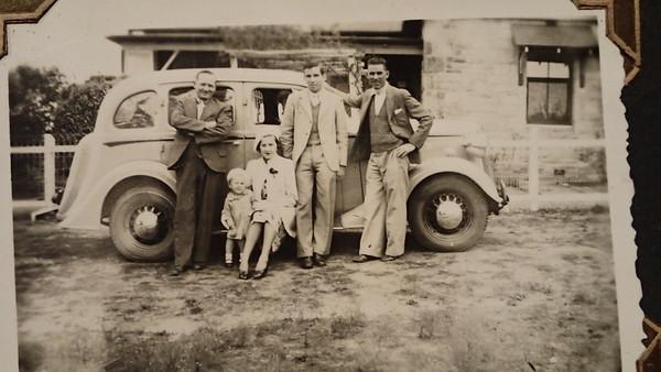 Rue Raymond, Beverly Beck, Florence Beck, Bruce Curtis & Edward Beck at Quialigo