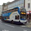 Stagecoach Enviro 400 GX10HBD 15595 in Brighton on the 700 to Littlehampton.
