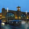 London Kings Cross station frontage.