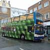 Stagecoach Dennis Trident ALX400 KX04XJB 18127 on Northampton Drapery.