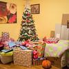 JOED VIERA/STAFF PHOTOGRAPHER Lockport, NY-Presents wrap the family christmas tree.