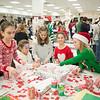 JOED VIERA/STAFF PHOTOGRAPHER Pendleton, NY-Kids make Christmas crafts at Starpoint's Winterfest.