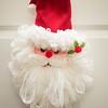 JOED VIERA/STAFF PHOTOGRAPHER Lockport, NY-A Santa Claus decorates a Heritage Manor residence.