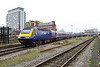 28 December 2015 :: 43017 has departed from Basingstoke with  1C16, the 1239 Waterloo to Bristol Temple Meads
