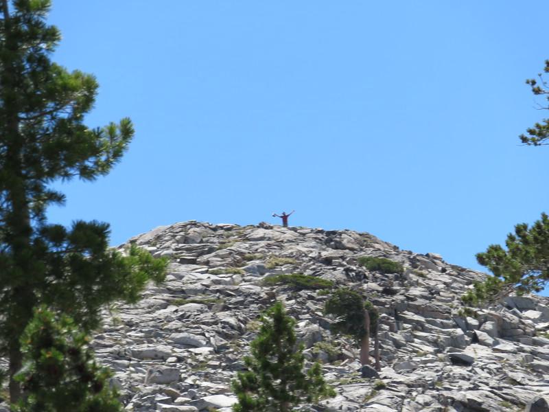 326 Chris over Waca Lake
