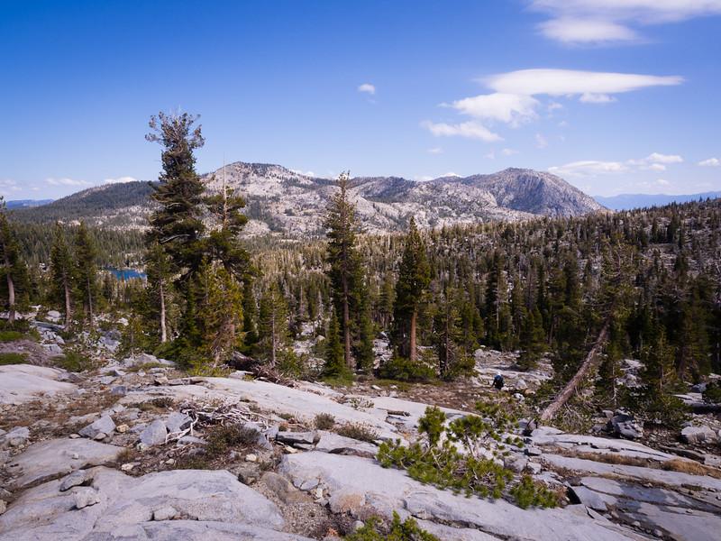 Phipps Peak and Lower Velma Lake