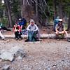 Resting near Gilmore Lake