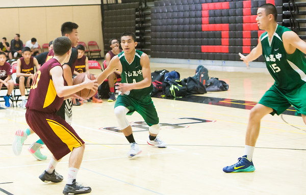 SongShan High School Basketball Team in US by Ding Ding TV