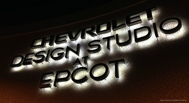 Chevy Design Studio at Epcot's Test Track