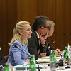 Ms Auriela Frick, Minister of Foreign Affairs, Liechtenstein, chairing the EFTA Ministerial meeting