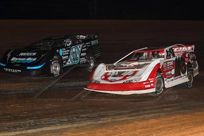 Randy Weaver (116) and Scott Bloomquist (0)