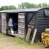 Grounded 12t Vent Van at Fen Drayton, Capability Barns.