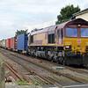 66031 1420_4L45 Wakefield-Felixstowe passes Chettisham Crossing, Ely.