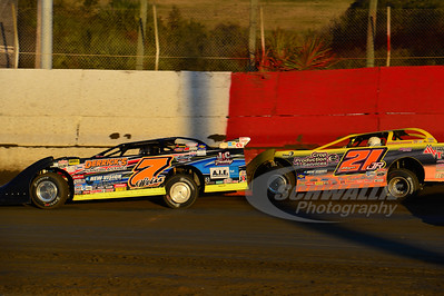 7w Ricky Weiss and 21JR Billy Moyer, Jr.
