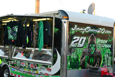 Jimmy Owens apparel trailer