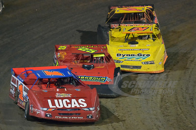 1 Earl Pearson, Jr., 25 Mike Benedum, 21JR Billy Moyer, Jr. and 21d Dan Stone
