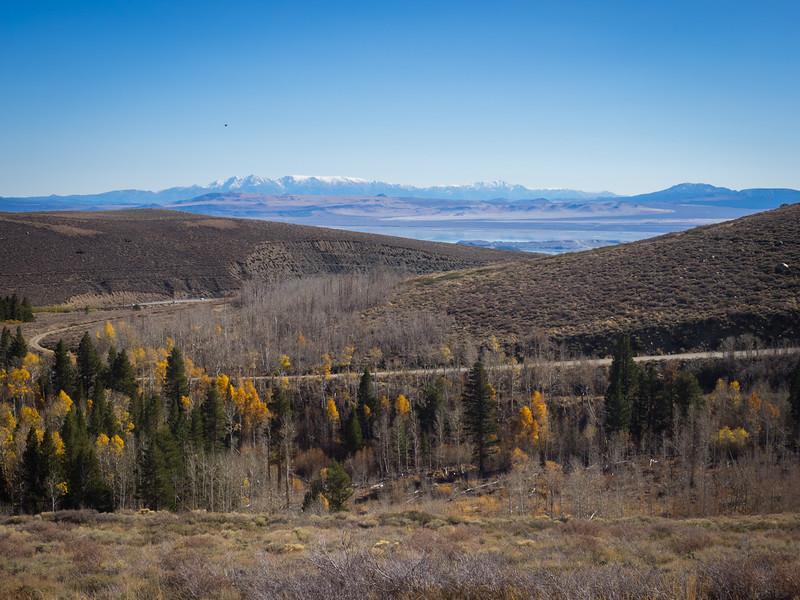 Virginia Lakes Road and Mono Lake