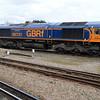 66731 'InterhubGB' seen at Eastleigh Station sidings.