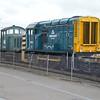 08650 & 07007 Shunting the works yard.