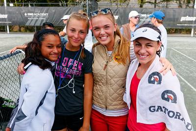 106.02 Ingrid Neel celebrates doubles title with friends - Eddie Herr at Bollettieri IMG Academy 2015_106.02