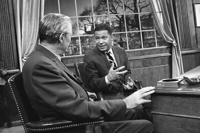 Edward W. Brooke and Eric Savareid
