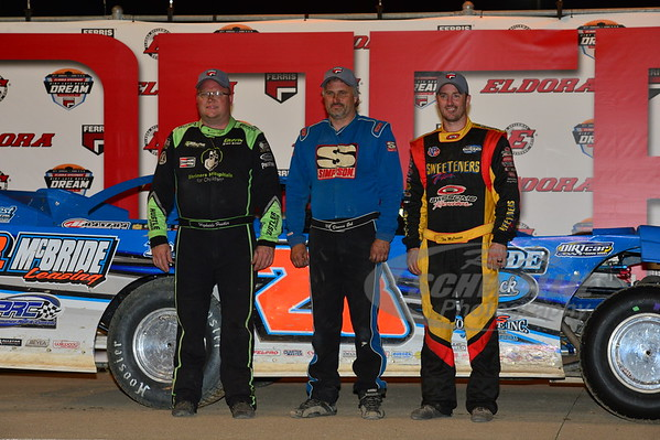 Jason Feger, Dennis Erb Jr., Tim McCreadie