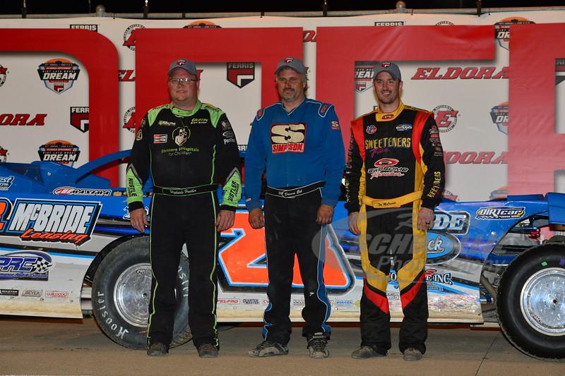 Jason Feger, Dennis Erb Jr., Tim McCreadie