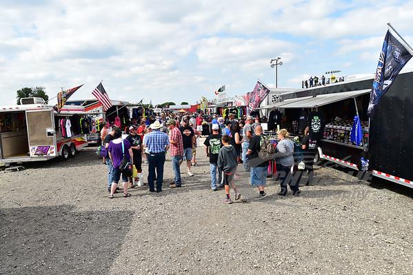 Eldora Speedway vendor area