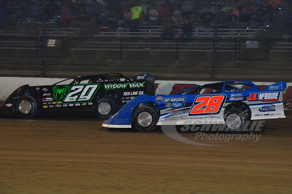 28 Dennis Erb, Jr. and 20 Jimmy Owens
