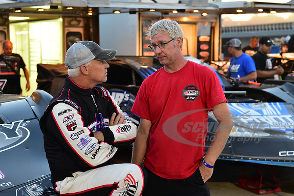 Dale McDowell talks with his brother - Shane