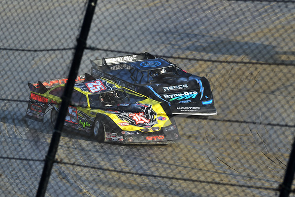 25 Shane Clanton and 0 Scott Bloomquist