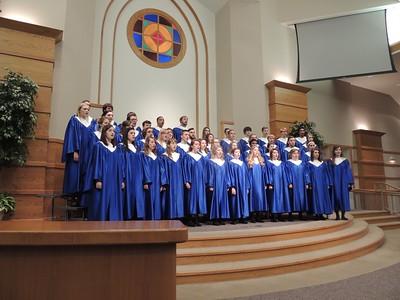 Concert Choir Winter Tour 2015