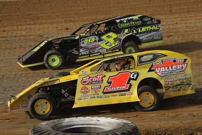Florence Speedway; The Fall 50 for Late Models along with American Modified Series