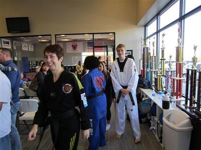 Family Martial Arts Ribbon Cutting - October 10, 2015