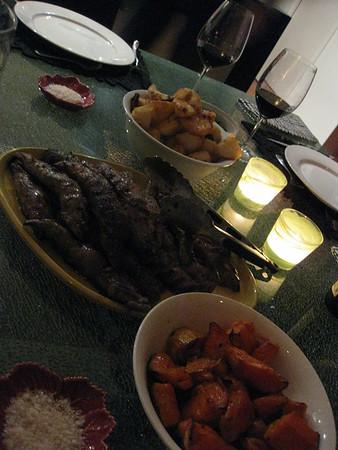 20150704 Dinner with Donna & John & Elise & David