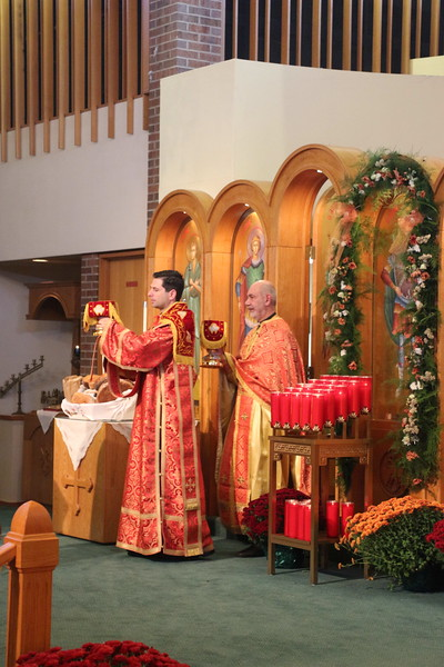 Feast of St. Demetrios Hierarchical Divine Liturgy