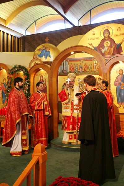 Feast of St. Demetrios Hierarchical Divine Liturgy
