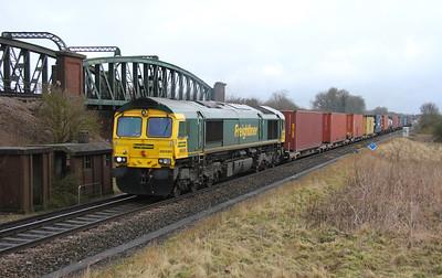 66591 Battledown 28/02/15 4O27 Garston to Southampton