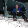 Tent Camp on knob