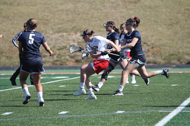 GWU goes toward the goal.