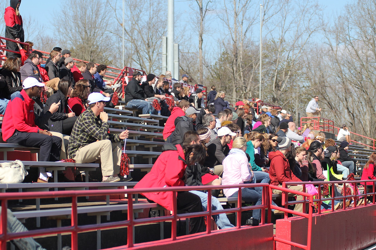 On Saturday (Valentine's Day), February 14th, Gardner-Webb hosted the first ever women's lacrosse game. GWU put up on tough fight but fell short in the end to Old Dominion.