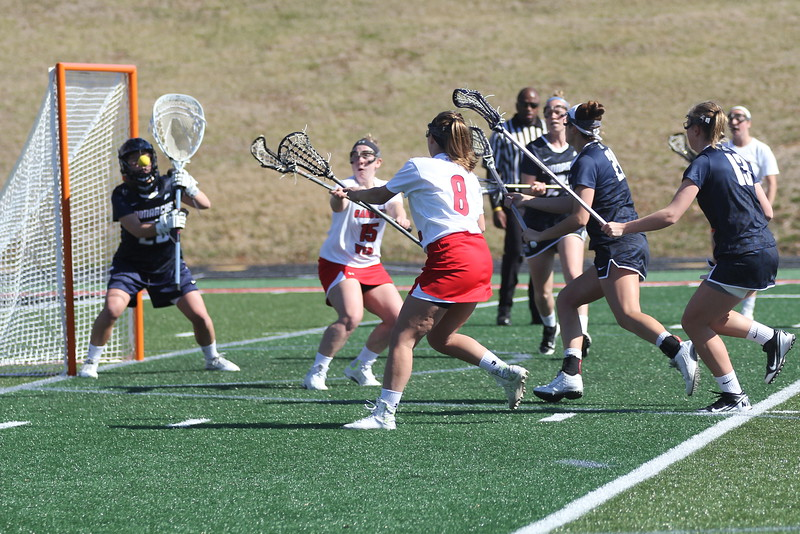 GWU goes for the goal.