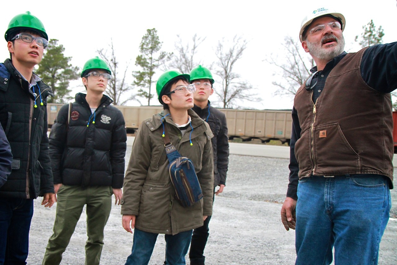 Japanese engineering students visit Gardner-Webb University and several locations across the southeast, including the Duke Energy Steam Station, Facebook Data Center, NASCAR Hall of Fame, Charleston, and Atlanta.