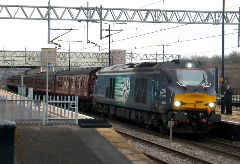 DRS 68003 Milton Keynes Central