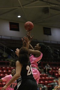 GWU's women's basketball team faces Campbell Tuesday February 17, the game had been moved up due to inclement weather.