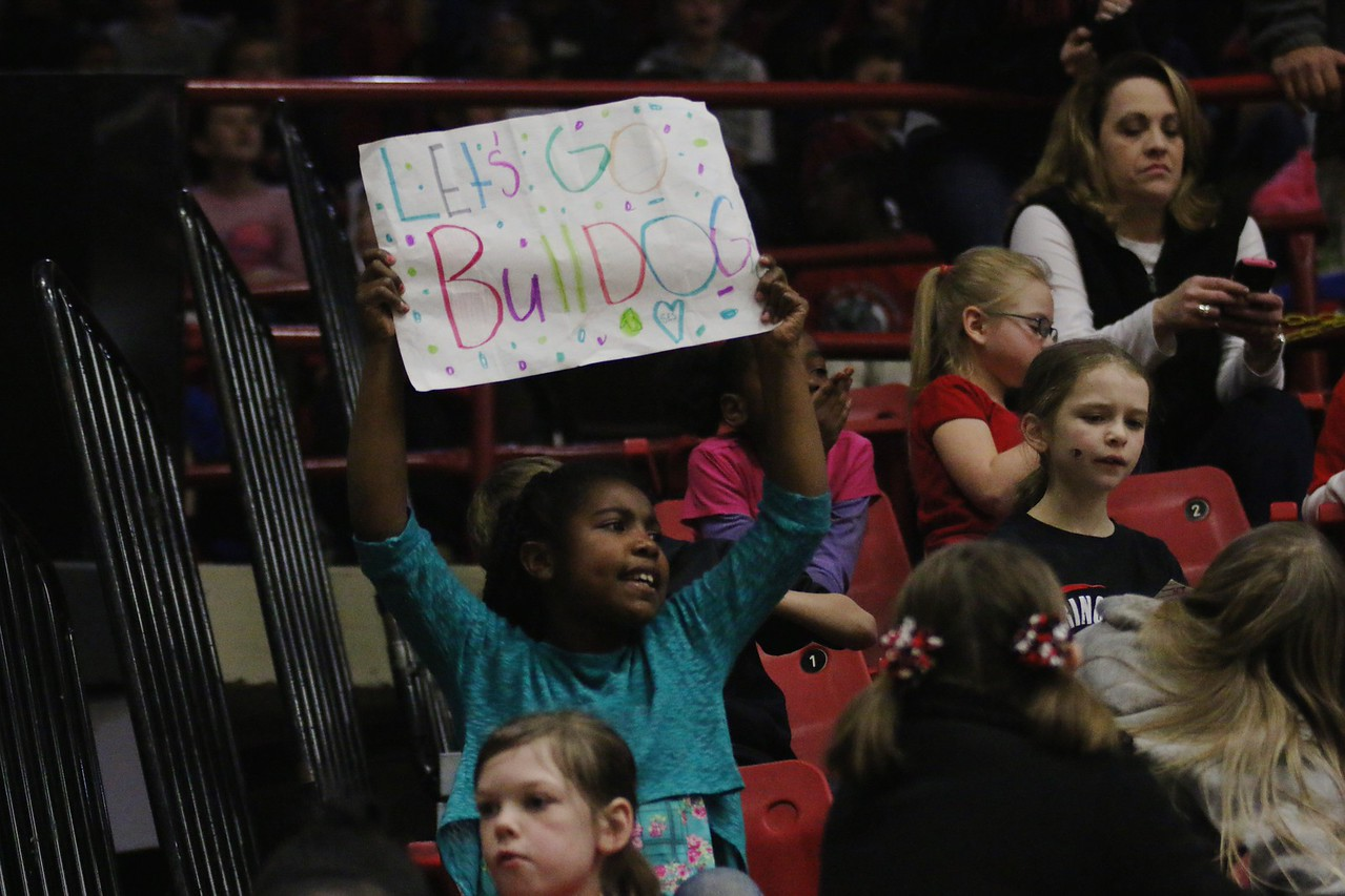 Womens basketball hosted Liberty University for Cleveland County educational day hosting multiple intermediate, middle, and elementary schools through out the county.