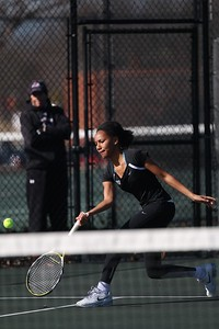 Gardner-Webbs's women's tennis team competes against Limestone for home season opener Tuesday, February 2, 2015.